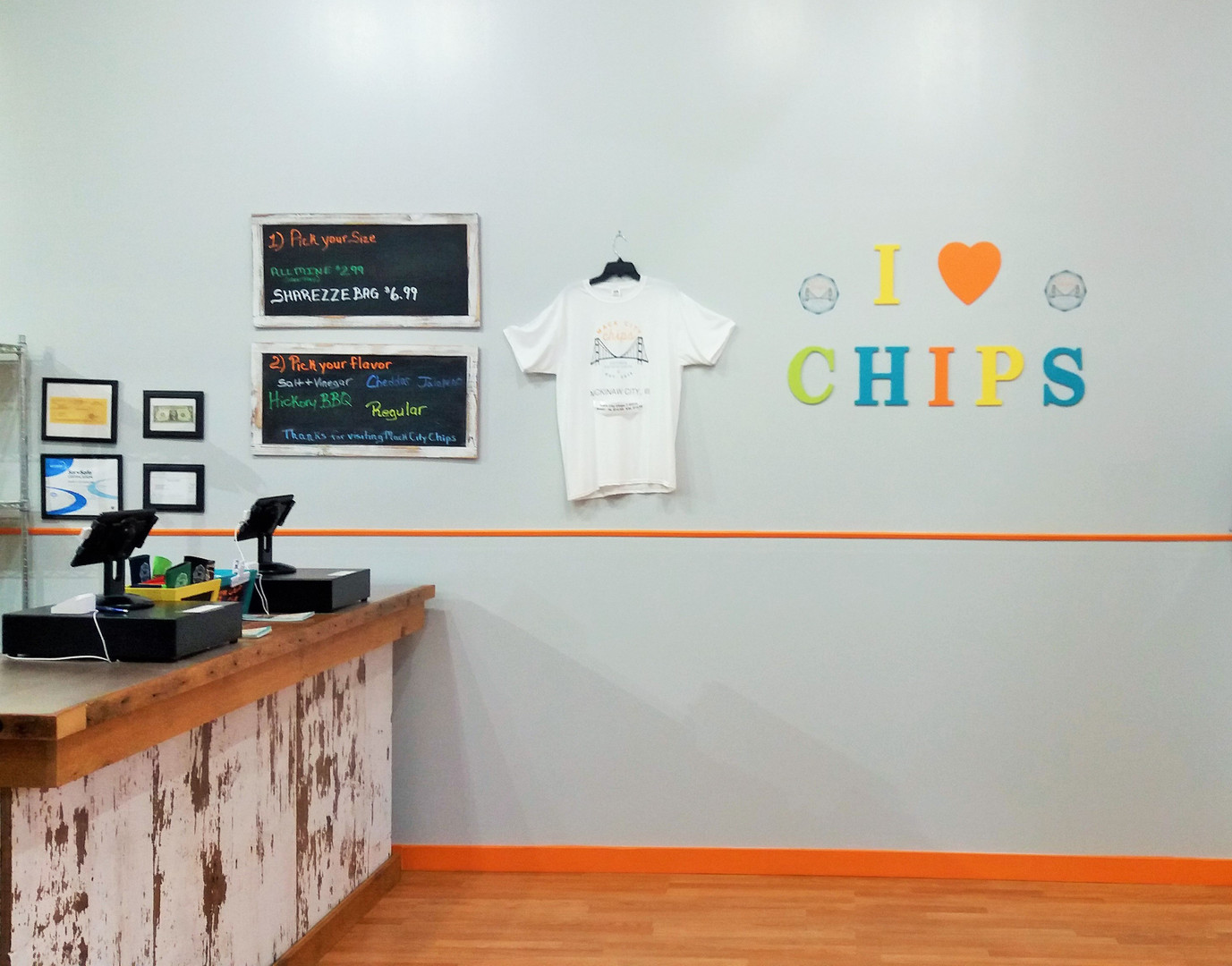 Mack City Chips Store Interior 3