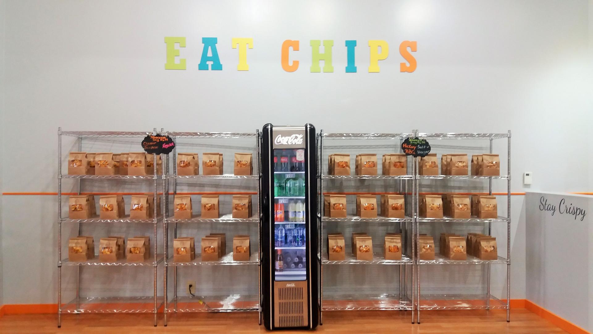 Mack City Chips Store Interior