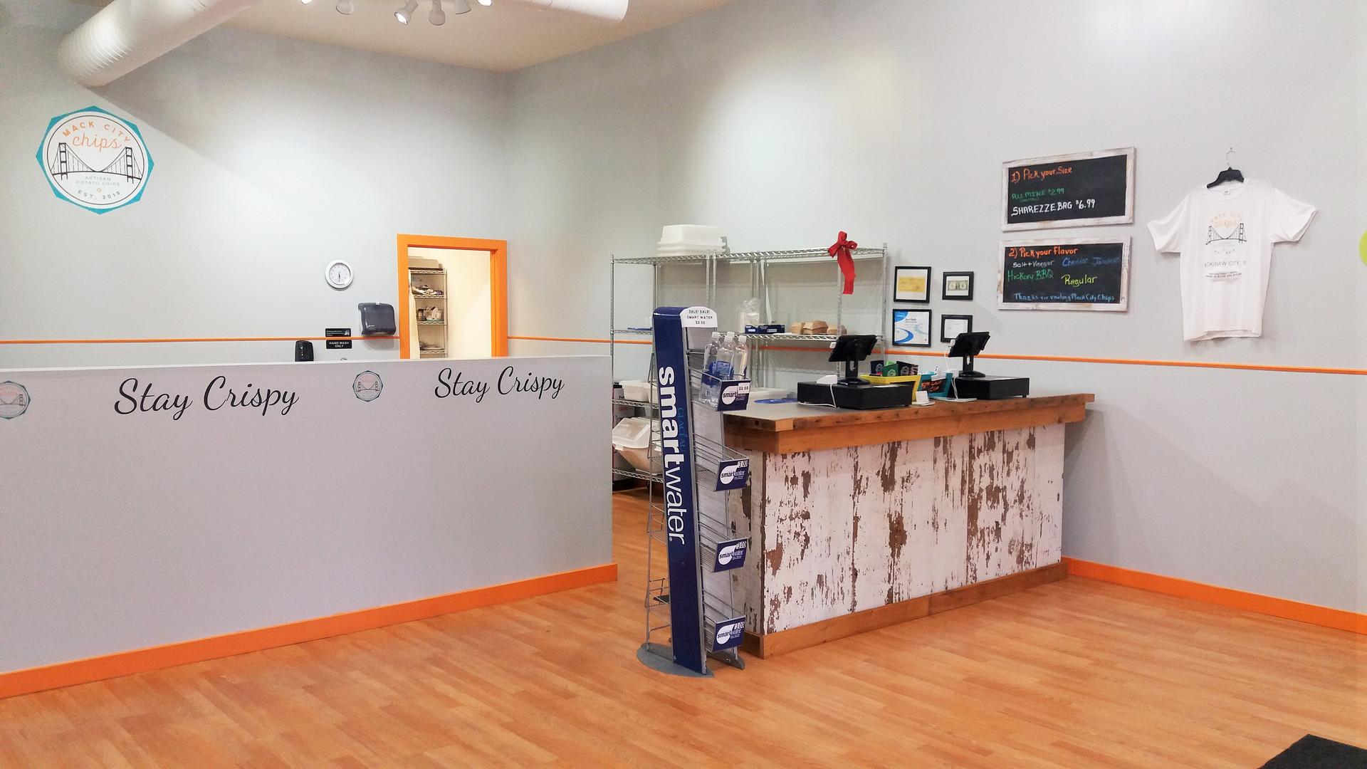 Mack City Chips Store Interior 2