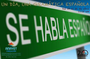 Un Día, Una Gramática Española