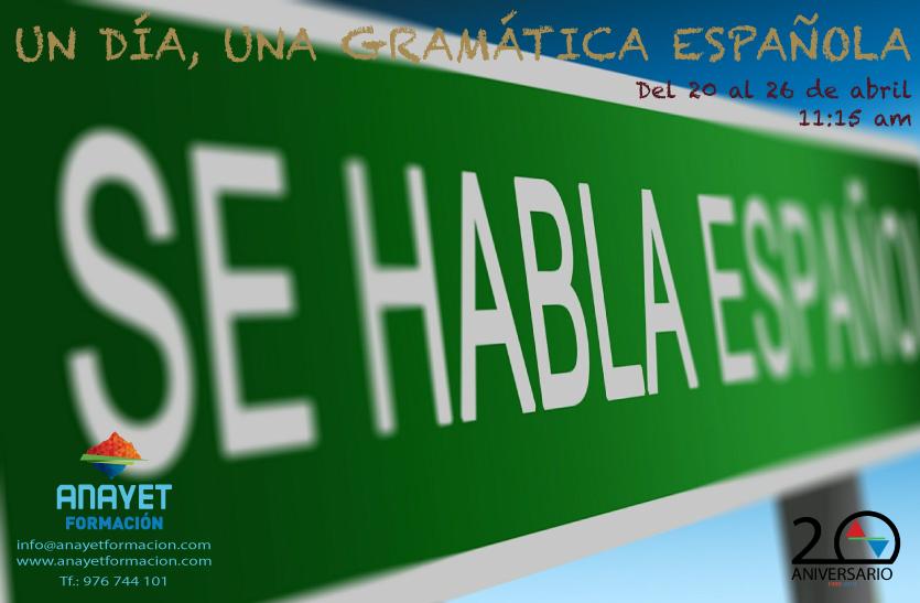 Un Día, Un Gramática Española