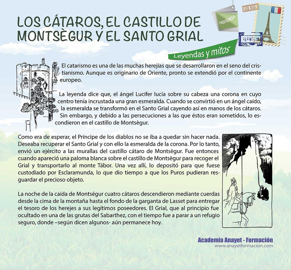 LOS CÁTAROS, EL CASTILLO DE MONTSEGUR Y EL SANTO GRIAL