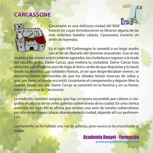 CARCASSONE: CIUDAD CON LEYENDA