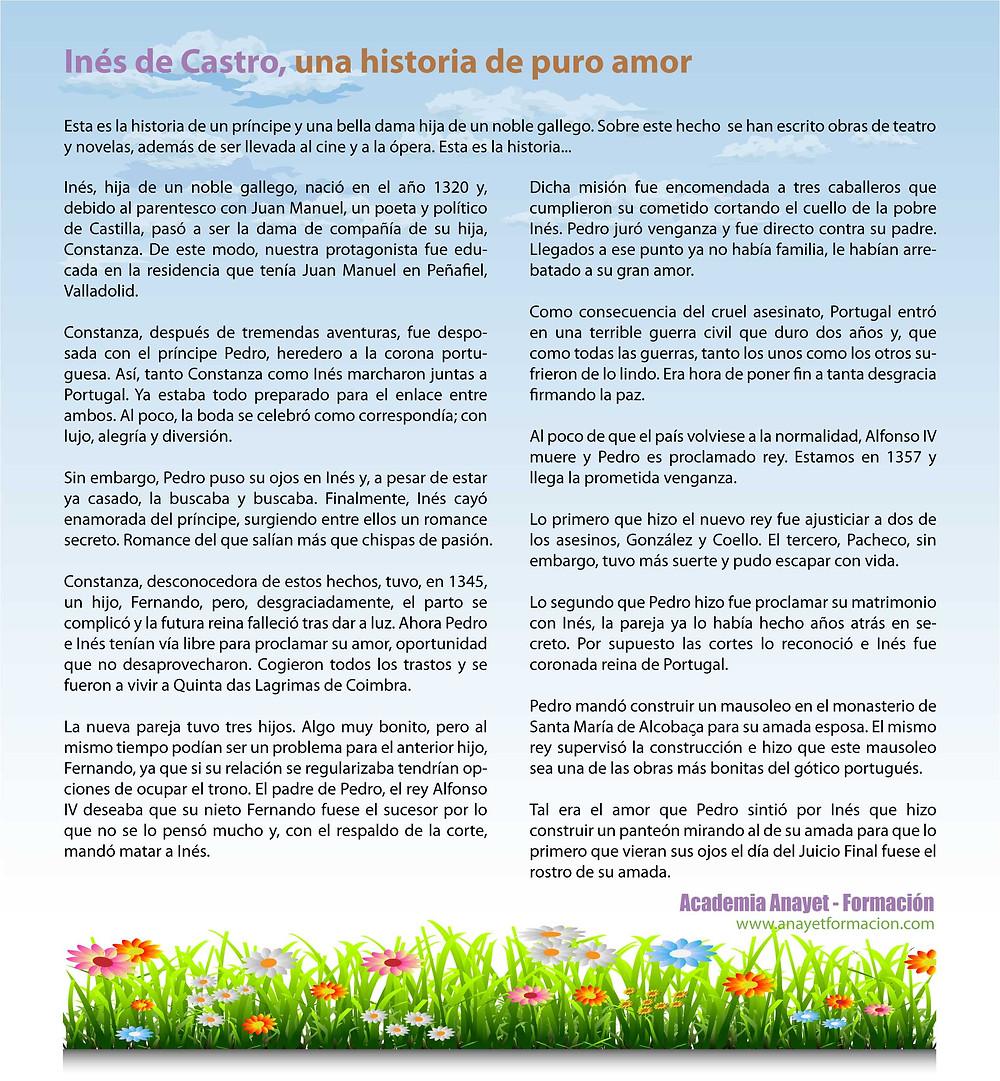 Inés de Castro; el amor más puro.