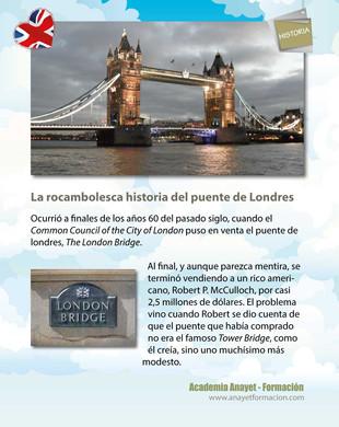 La rocambolesca historia del puente de Londres