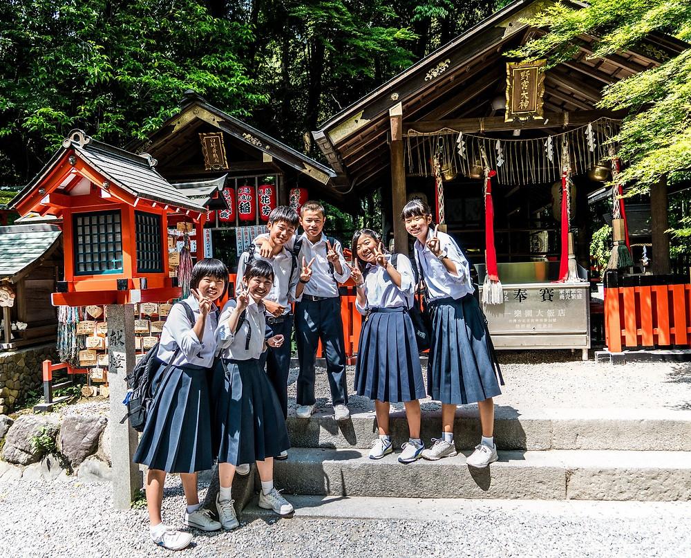 El saludo en japonés