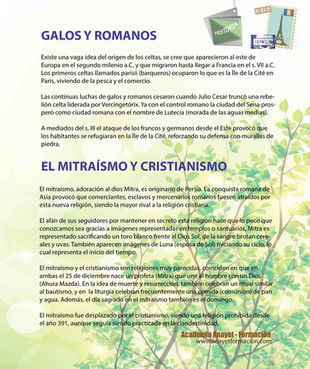 GALOS Y ROMANOS - EL MITRAÍSMO Y CRISTIANISMO