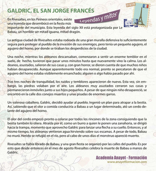 GALDRIC: EL SAN JORGE FRANCÉS