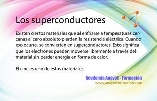 Los superconductores