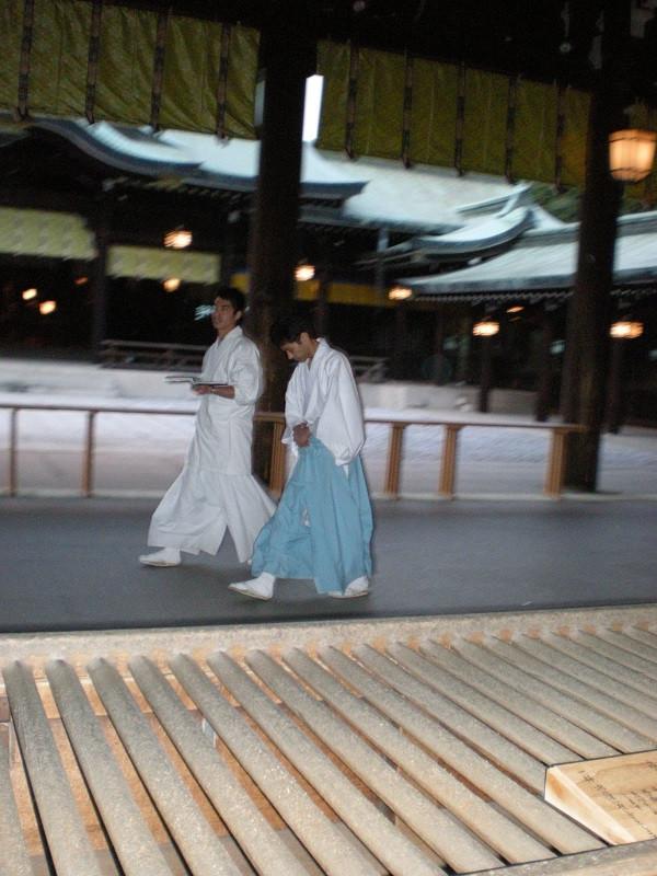 La nochevieja en japón.