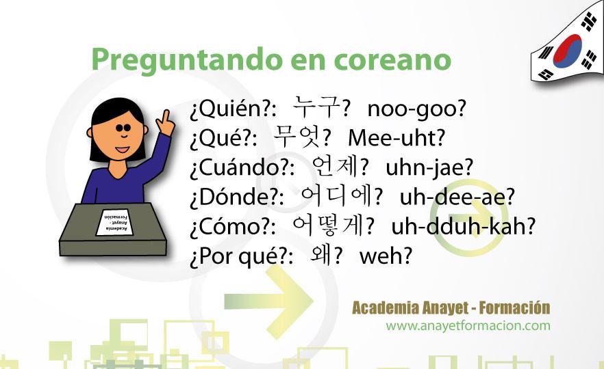 Preguntando en coreano