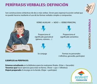 PERÍFRASIS VERBALES - DEFINICIÓN