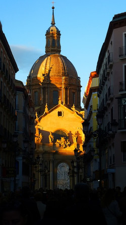 Desde la calle Alfonso, Zaragoza