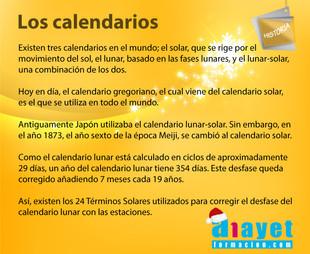 Los calendarios