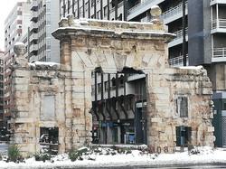 La puerta del Carmen, Zaragoza