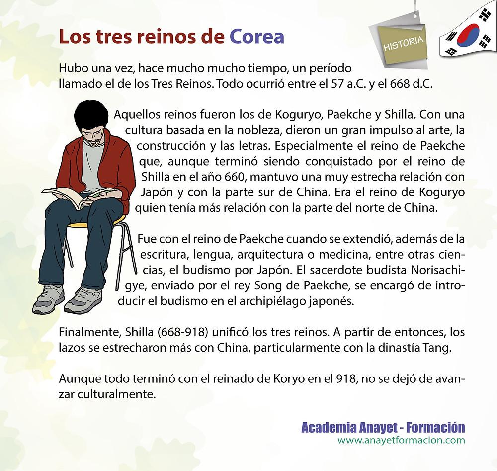 Los tres reinos de Corea