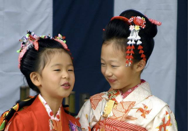 Shichi-go-san. Celebraciones japonesas