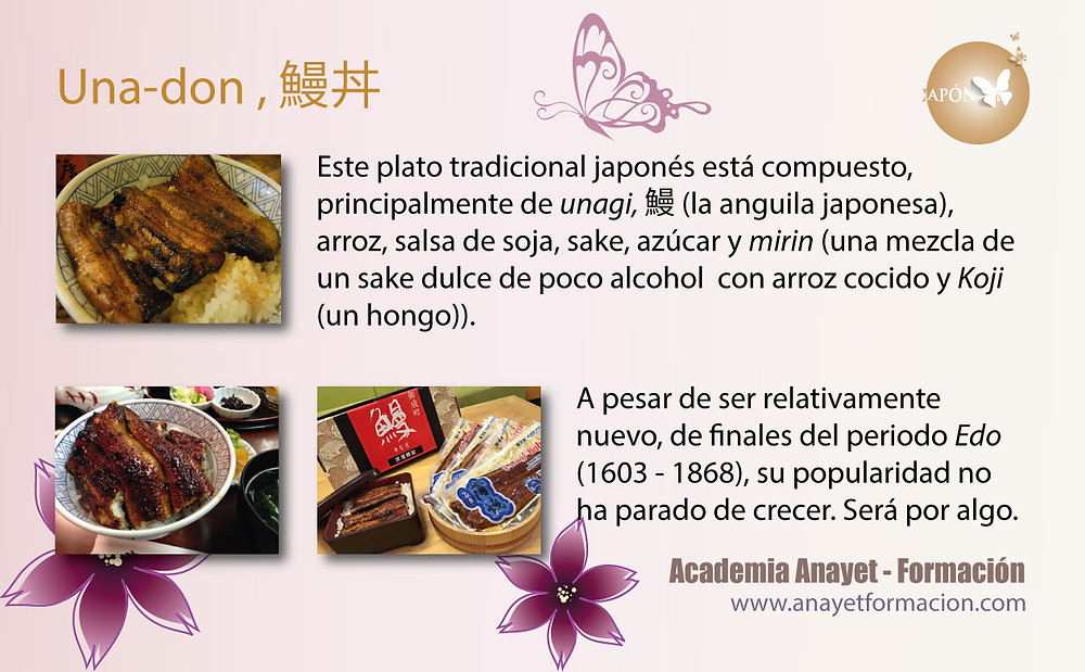 Una-don , 鰻丼 -Comida japonesa