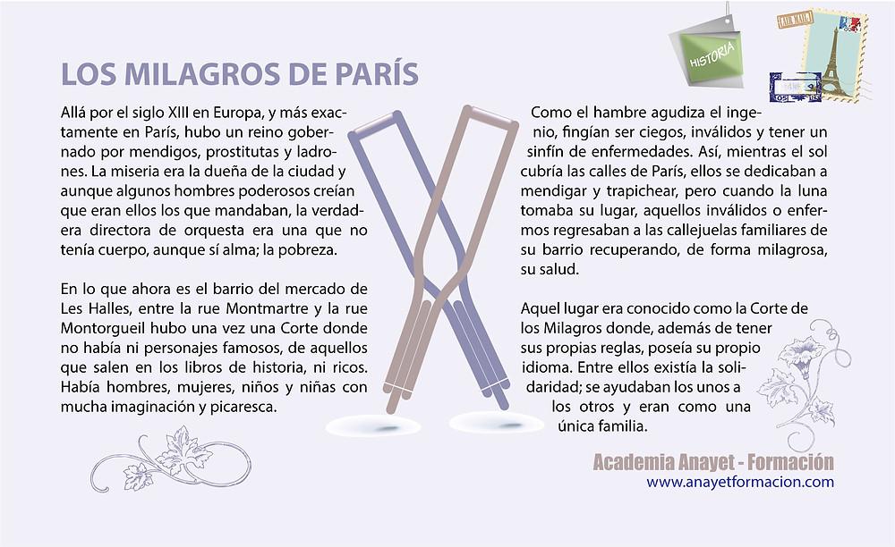 Los milagros de París. FRANCIA