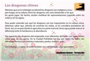 Los dragones chinos