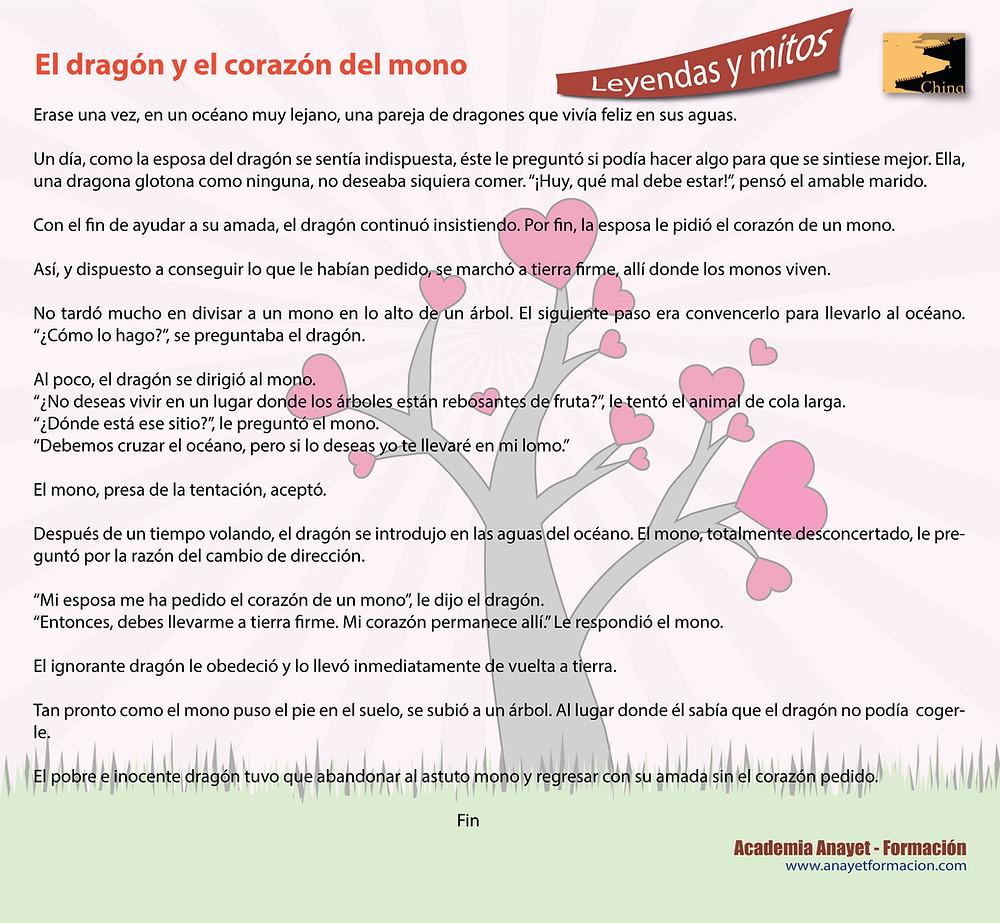 EL DRAGON Y EL CORAZON DEL MONO