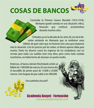 Cosas de bancos