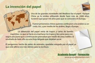 La invención del papel