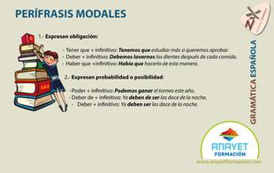 PERÍFRASIS MODALES