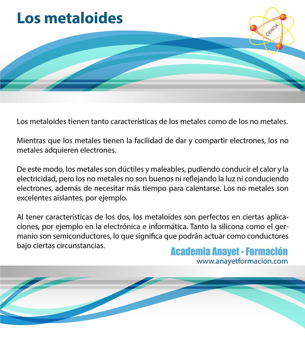 Los metaloides