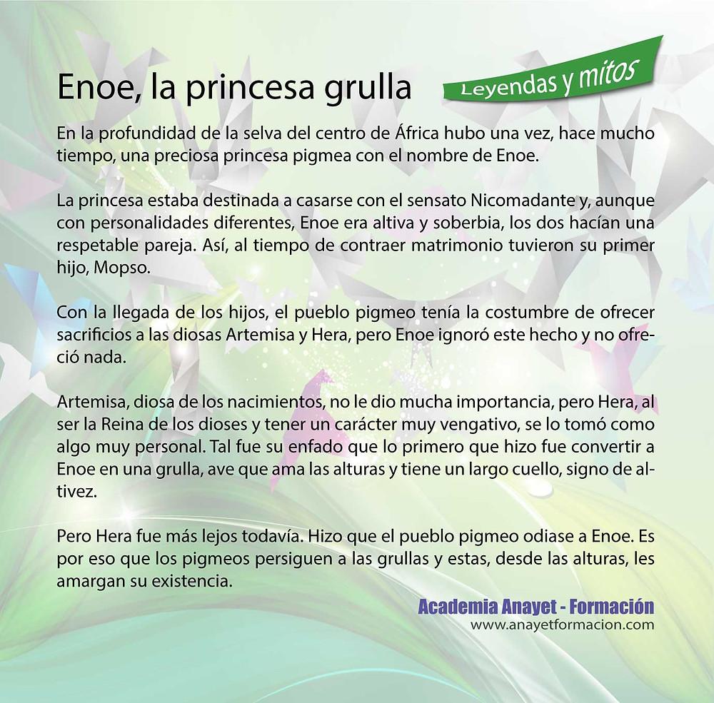 Enoe, la princesa gru
