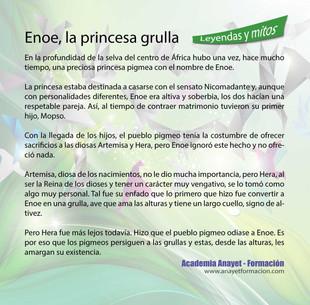 Enoe, la princesa grulla
