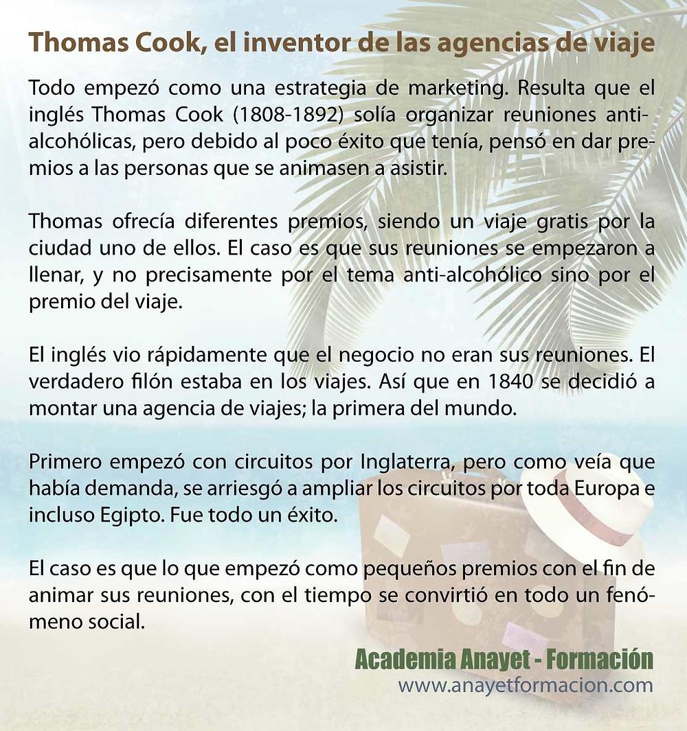 Thomas Cook, el inventor de las agencias de viaje