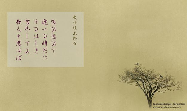Poesía japonesa - Tanka y Haiku