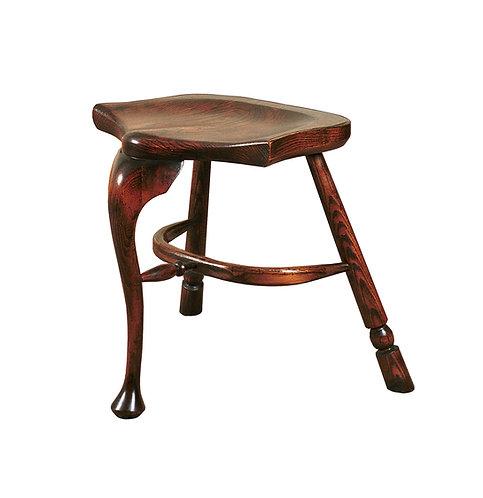 BC38 Cabriole stool