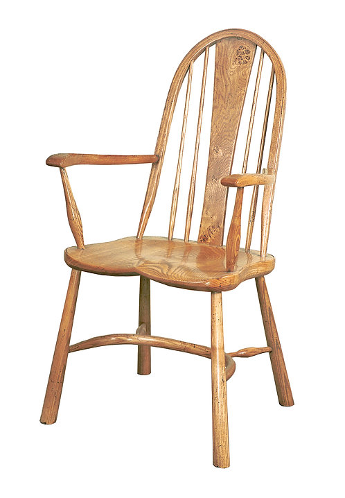 BC25pip Chiltern armchair with Pippy Oak splat