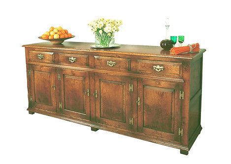 TL534P Sideboard with 4 cupboards and 4 drawers