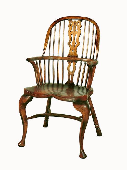 BC1 Cabriole leg armchair