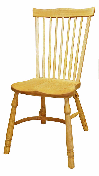 BC63MHCL Middle height fan back side chair