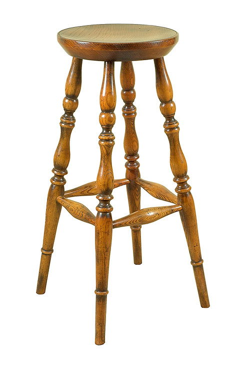 BC30CL Bar stool with Pippy Oak seat