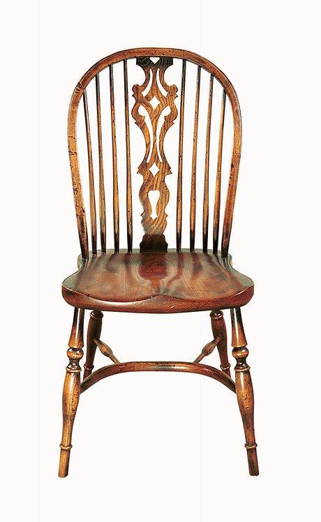 BC54 Large Georgian side chair