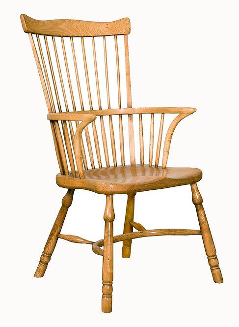 BC62A Stickback fanback armchair