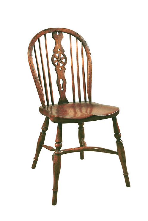 BC6 Wheel back side chair