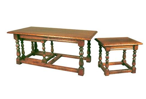 HL17 Long John nest of tables.