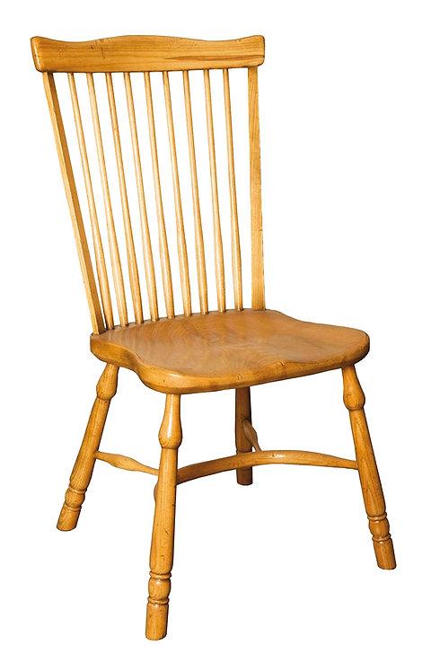 BC63A Stickback fanback sidechair