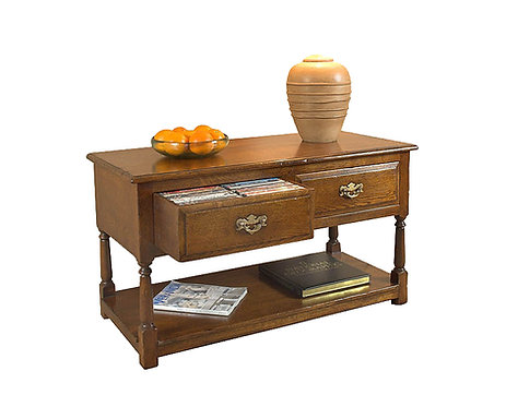 TL280 Double lamp table with DVD drawers