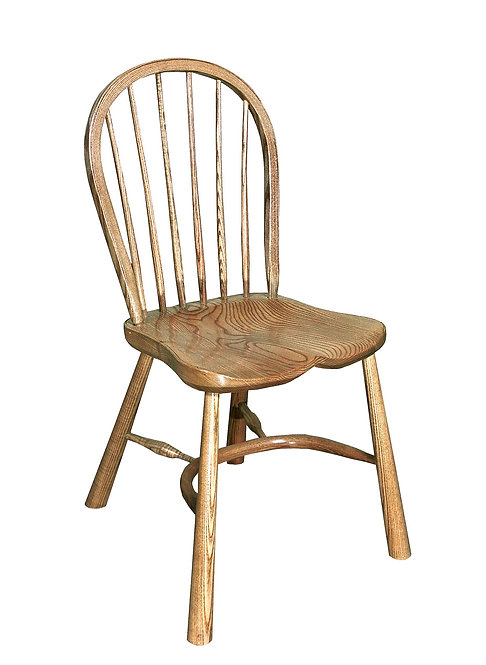 BC8RL Small stickback sidechair with revival legs
