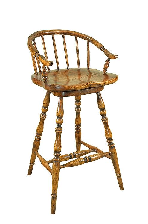 BC37 Low back swivel bar stool