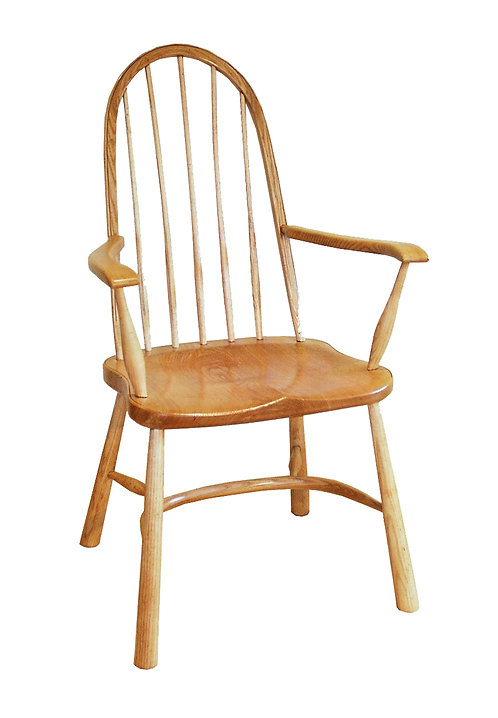 BC25A Chiltern stick back arm chair