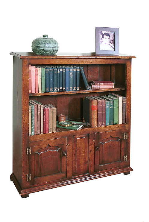 TL63 Bookcase with two cupboards