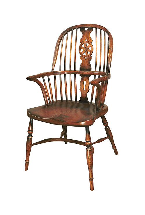 BC5 Wheel back arm chair